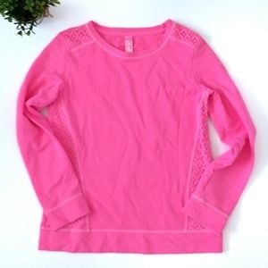 Cat and Jack pink top, Size XL 14-16